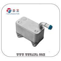 China Original VW / AUDI Engine Oil Cooler TF-1064 , Aluminum Oil Cooler 06D117021C on sale