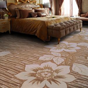 China EAKA high quality cut loop decorative pp yarn durable and exhibition low prices online jacquard used hotel carpet on sale