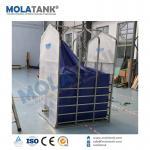 Molatankの携帯用容易な設置環境エネルギー家のバイオガス システム