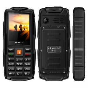 China 2.4 Inch Tough Rugged Mobile Phones 3000mAh 2.0MP Camera TFT Display Setro V3 on sale