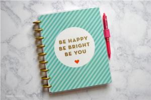 China Meaningful Gift Disc Bound Notebook Plastic / Coated Paper Cover Material on sale
