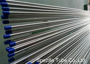 China Stainless Steel Welded Tube ASTM A249 , Stainless Steel Instrument Tubing 20FT Length on sale