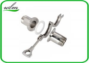 Stainless Steel Sanitary Tri Clamp Fittings Short Type For