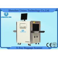 Small Size X - Ray Security Baggage Scanner For Luggage , 500*300 Opening Size