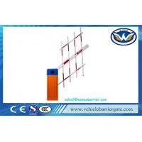 China Vehicle Access Control Automatic Barrier Gate , Remote Control car park access barriers on sale