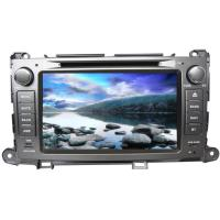 China Double din touch screen car dvd audio stereo TOYOTA GPS Navigation for sienna on sale