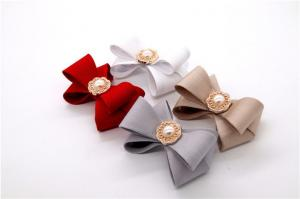 China Popular Shoes Bow Tie , Vintage Style Shoelace Bow Tie Zinc Alloy Material on sale