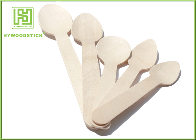 Wooden Dinner Spoons Eco Friendly Cutlery For Restaurant