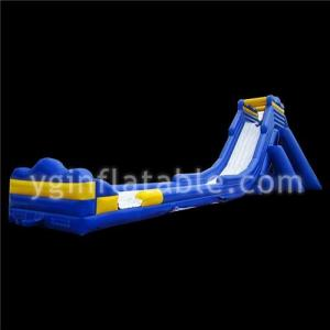 China Large Blue Inflatable Water Slides on sale