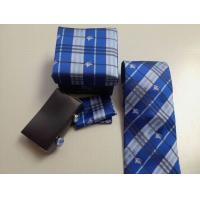 China Sell hotest bu-rberry men suit business high-grade real silk stripes tie knot groom's tie on sale