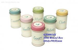 China Minits Tin Box for Power & Kitchen Jar from Golden Tin Box on sale