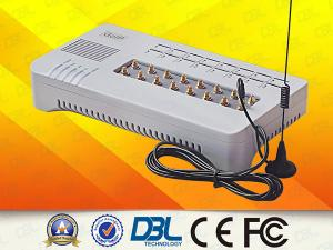 China 16 GSM Channels VoIP GoIP SMS Gateway Support VPN / Relay  SIP / H.323 on sale