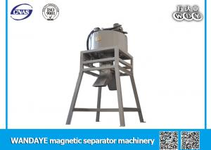 China Multi Magnetic Pole Dry Magnetic Ore Separator For Drought / Water Shortage Area on sale