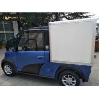 Cargo Carrier light duty electric van 2 Passenger with Reverse Sensor High Speed