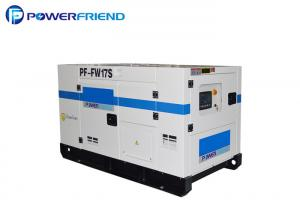 China Soundproof 12kw / 15kva Fawde Diesel Power Generator Set AC 3 Phase Water Cooling on sale
