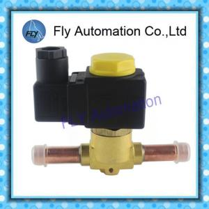 China Two-Channel Pneumatic Solenoid Valves SV For Refrigerater / Air Conditioners on sale