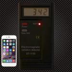 Enerna IoTech Electromagnetic Radiation EMF Meter Dosimeter Frequency Tester R100 Digital LCD Electromagnetic Meter