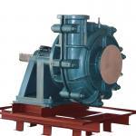 6/4E heavy duty hard metal AH slurry pump for mining interchangable