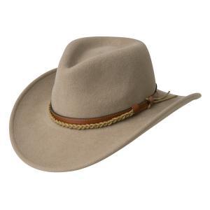 China 100% wool Felt hat wool cowboy hat on sale