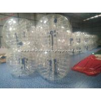Rent Big Inflatable Human Bubble Ball Soccer , Indoor Body Zorbing Ball