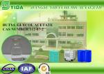 BGA Dissolve Ethyl Cellulose , Polystyrene , Rubber Nitro Cotton Ethylene Glycol Monobutyl Ether Acetate Cas No 112-07-2