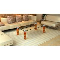 China glass dining table base on sale