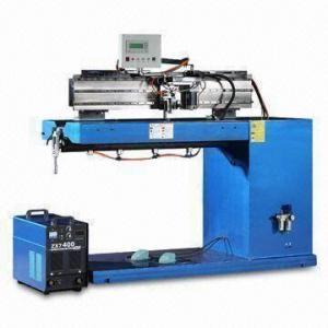 China Automatic Argon Arc Straight Seam Welding Machine for Making Metallic Cylinders on sale