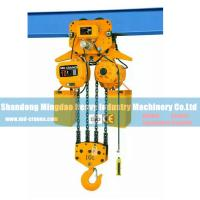 China Top Quality China Made 10 Ton Electric Chain Hoist with Monorail Trolley on sale