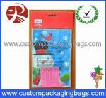 Os sacos personalizados do deleite do HDPE plástico Resealable personalizaram o logotipo para o festival