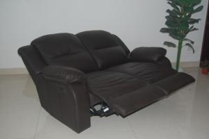 China Leather reclining Sofa(S608-2) on sale