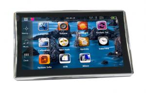 China 7 TFT Touch Screen Bluetooth Portable GPS Car Navigation Systems with Free World Map on sale