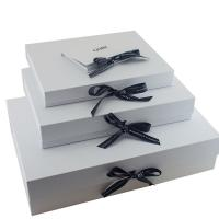 CMYK Printing Garment Packaging Boxes , Fashionable Dress Packing Boxes