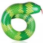 China Snake Shape PVC Tube Inflatable Swimming Ring Pool Float for Adult / Kids Summer Beach Party wholesale