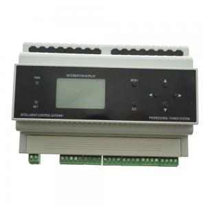 China 128*64 LCD Display Lighting Control Module 24V DC DIN Rain Supports Up To 128 Devices on sale