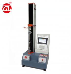 China LCD Electric Desktop Digital Universal Tensile Testing Machine Single Pole on sale