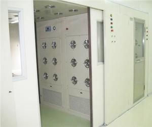 China Automatic double door cargo air shower room on sale