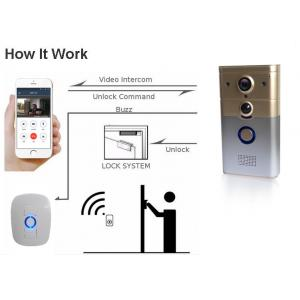 China Smart Home System WIFI Video Doorbell Complete Wire - Free And Easy Installation on sale