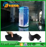 P3 SMD2121 Indoor Full Color Flexible Led Display Screen , Soft Led Curtain