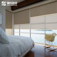 Washable Bedroom Pull Down Blackout Window Blinds 2% Openness Protect  Furnishings