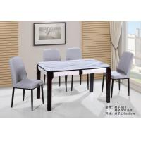 China Simple Assembly Stone Wood Coffee Table , Stylish Dining Room Table Sets on sale