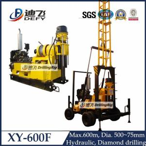 China 600m engineering water well drilling machine XY-600F on sale