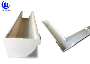 China Threepenny PVC Rain Gutters Fiiting Rain Water Collection Gutter on sale