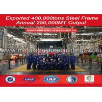 Anti Corrosion Prefab Shop Steel Building Workshop Frame Warehouse Time Saving
