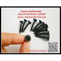 Black / Grey Phosphate Drywall Screw Fine / Coarse Thread C1022A Material 3.5x25mm
