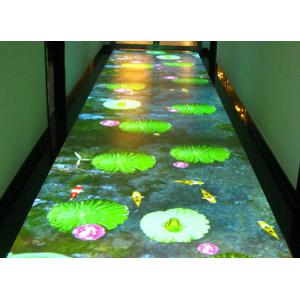 China Airport Interactive Floor Projectors Interactive Display Screen For Table / Bar on sale