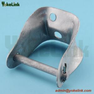 China Hot-dip Galvanized Cross Arm Clevis Secondary Clevis on sale