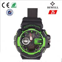 Fashion Lady And Man Silicone Wrist Watch With Zinc Alloy Case