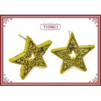 star earring silver jewelry