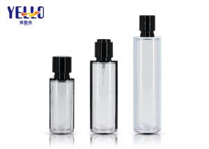 China Skincare Clear PETG Cosmetic Spray Bottle Hot Stamping Printing 60Ml on sale