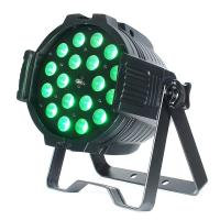 8-60 degree 18x18W RGBWA UV 6in1 LED Zoom Par Light for DJ Stage Light